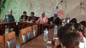 Press Meet at Kapilbastu