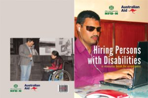 cover page of Hiring Persons with Disabilities