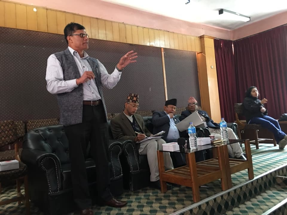 मूल आयोजना समितिको बैठक