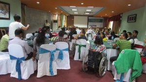 Participants of issues identification workshop