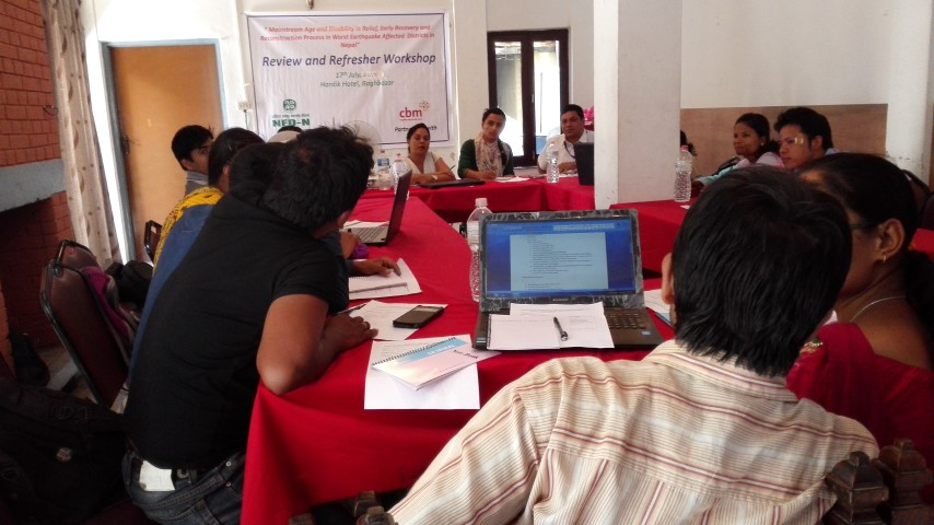 Review and Refresher workshop