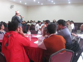 NP-PAD Revision workshop in Hardik Hotel