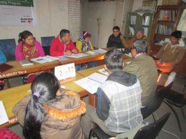 अष्ट्रेलियन परियोजना अन्तरगत सीभी लेखन तालिमका सहभागीहरू