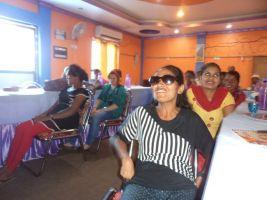 नेपालगन्जमा आयोजित महिला हिंसा सम्बन्धी कार्यशालाका सहभागी हरू