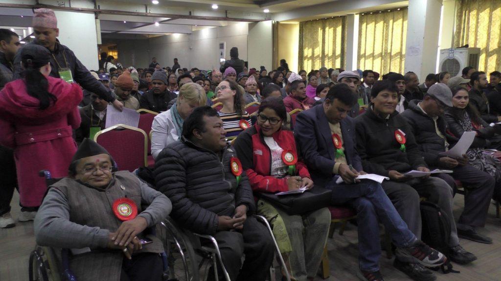 मानव अधिकार महाभेलाद्वारा जारी संयुक्त काठमाडौँ घोषणामा पत्र-२०१६ मा सहभागी जनाउँदै