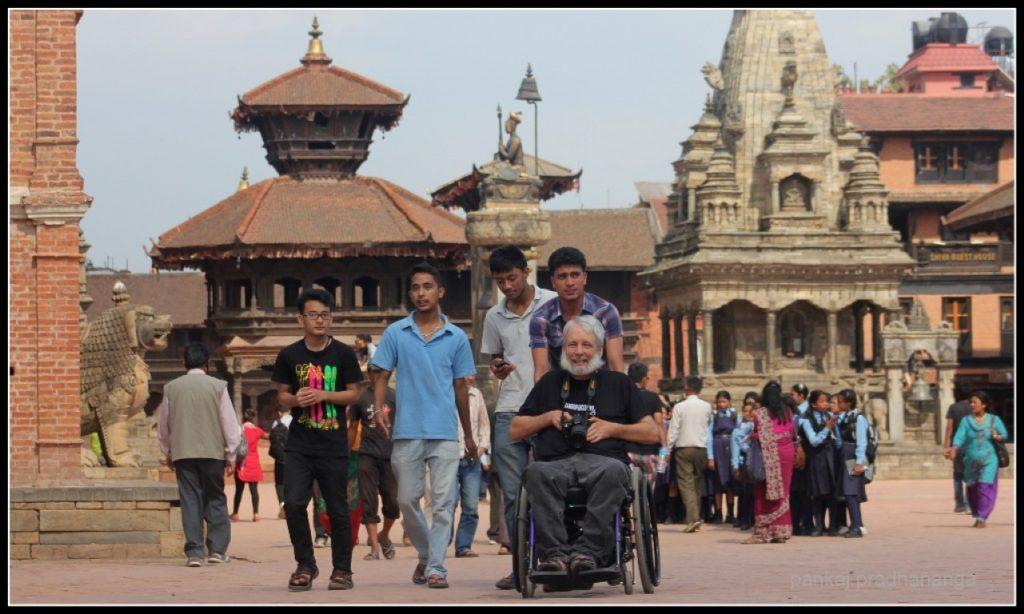 Dr. Scott Rains at Bhaktapur Durbar Square