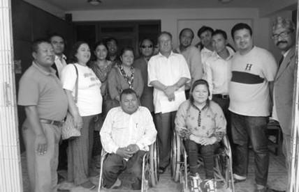 Meeting with Pushpa Kamal Dahal Prachanda