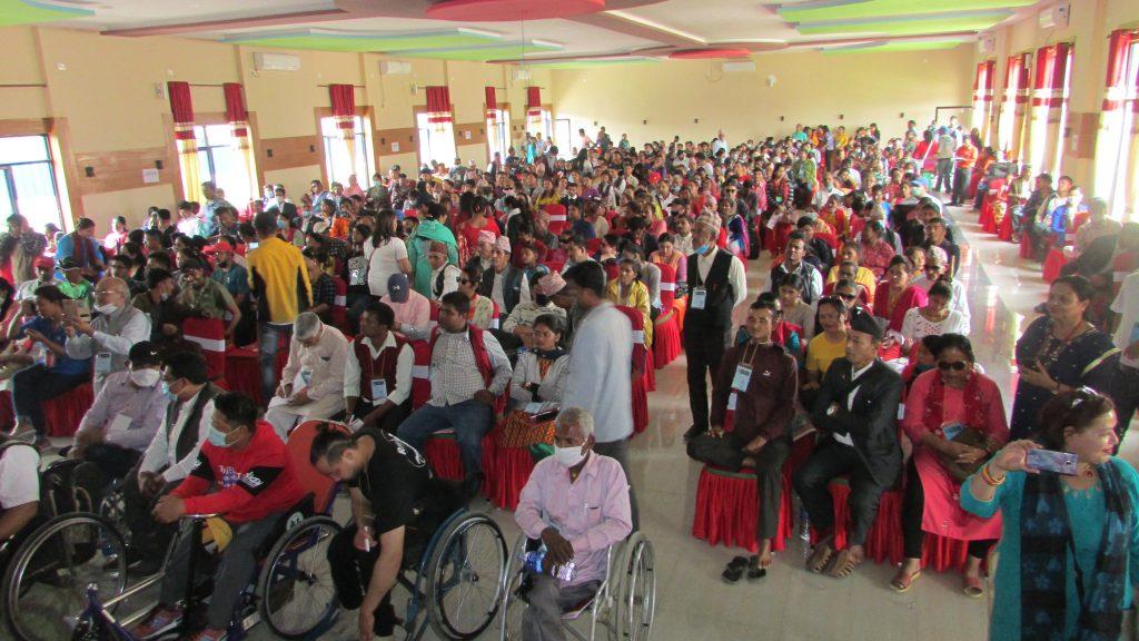 ५०० भन्दा बढी प्रतिनिधिहरूको उपस्थित रहेको साधारण सभाको सामुहिक तस्वीर