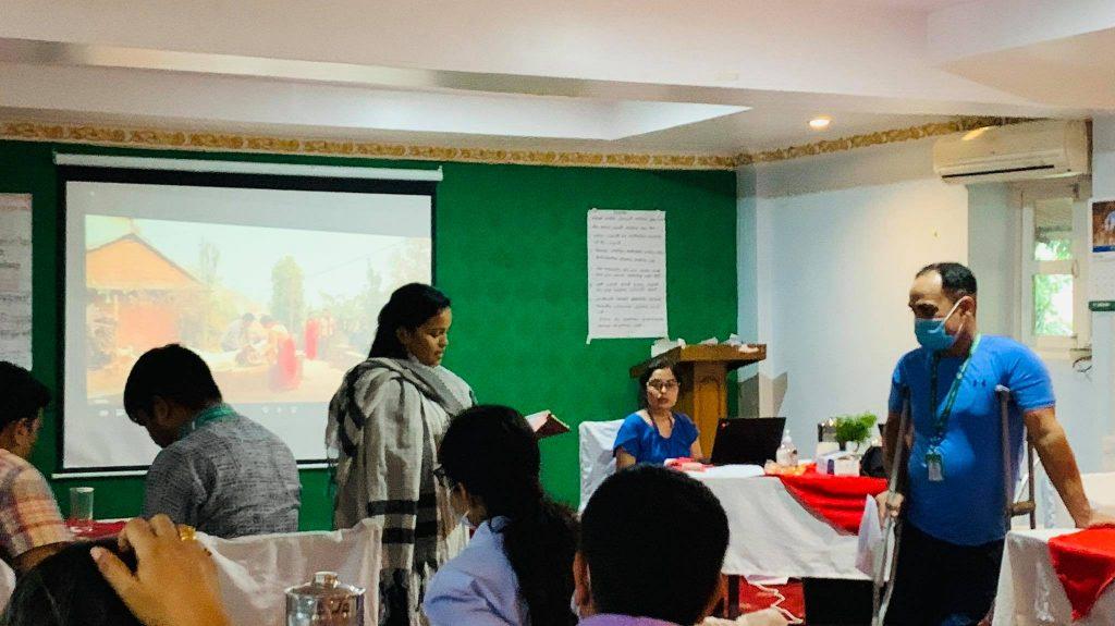 Reflections of Day one by NFDN Bagmati Programme Officer, Sita Malla Thakuri.