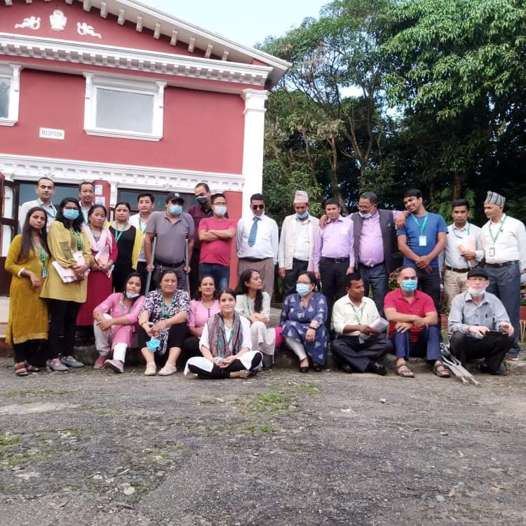 The new project, Action for Inclusion, team from all 7 provinces